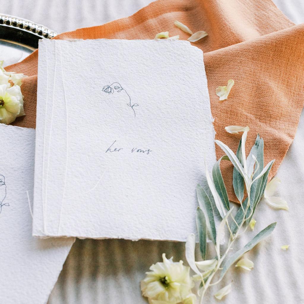 custom wedding invitations handmade paper
